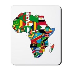 Flags of Africa Mousepad