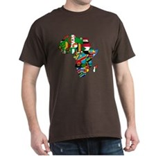 Flags of Africa T-Shirt