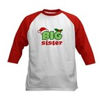 Big Sister - Christmas Kids Baseball Jersey