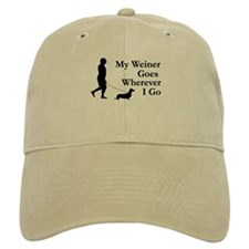 My Weiner Goes Baseball Cap
