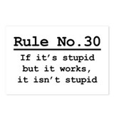 Rule No. 30 Postcards (Package of 8)