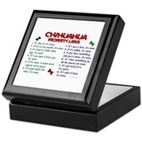 Chihuahua Property Laws 2 Keepsake Box