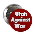 Utah Against War Button