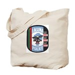 Laguna Pueblo Police Tote Bag