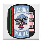 Laguna Pueblo Police Tile Coaster