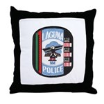 Laguna Pueblo Police Throw Pillow