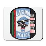 Laguna Pueblo Police Mousepad