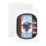 Laguna Pueblo Police Greeting Cards (Pk of 20)