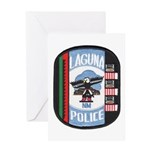 Laguna Pueblo Police Greeting Card
