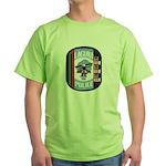 Laguna Pueblo Police Green T-Shirt