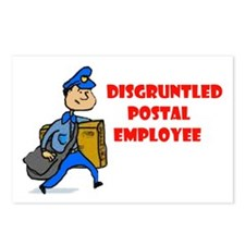 DISGRUNTLED Postcards (Package of 8)