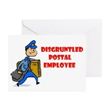 DISGRUNTLED Greeting Cards (Pk of 10)