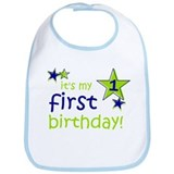 it's my first birthday Bib