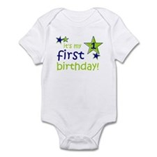 it's my first birthday Infant Bodysuit