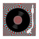 Psych Turntable Tile Coaster