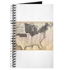 1861 Map Journal