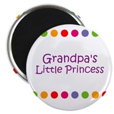 Grandpa's Little Princess Magnet