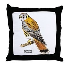 American Kestrel Bird Throw Pillow