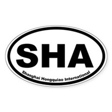 Shanghai Hongquiao International Oval Decal