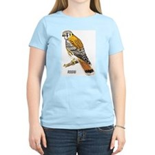 American Kestrel Bird Women's Pink T-Shirt