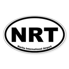 Narita International Airport Oval Decal