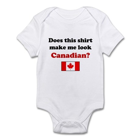 Make Me Look Canadian Infant Bodysuit