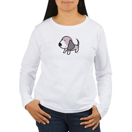 Basset Hound Puppy Women's Long Sleeve T-Shirt
