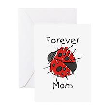 Forever Mom Ladybug Greeting Card