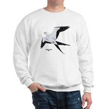 Swallow-Tailed Kite Bird (Front) Sweatshirt