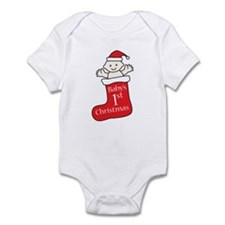 Unique Babys first christmas Infant Bodysuit