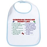 Doberman Pinscher Property Laws 2 Bib