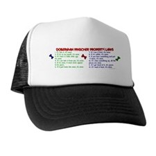 Doberman Pinscher Property Laws 2 Trucker Hat