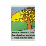 FAITH Rectangle Magnet (10 pack)