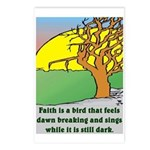 FAITH Postcards (Package of 8)