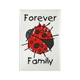 Forever Family Rectangle Magnet