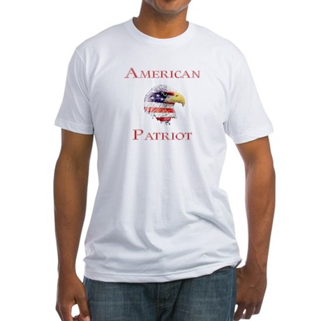 American Patriot Fitted T-Shirt