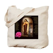 Saint Therese Tote Bag