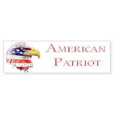 American Patriot Bumper Bumper Sticker