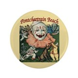 Pontchartrain Beach Poster 3.5&quot; Button