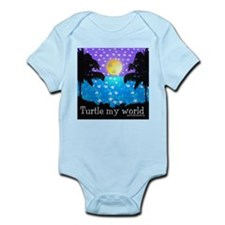 Baby's Turtle My World Bodysuit