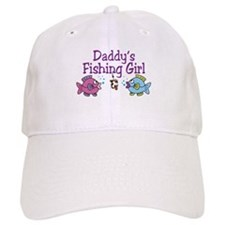 Daddy's Fishing Girl Baseball Cap