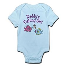 Daddy's Fishing Girl Infant Bodysuit