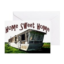 Trailer Home Greeting Card