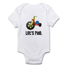 """Let's Ride"" Onesie"