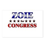 ZOIE for congress Postcards (Package of 8)
