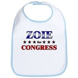 ZOIE for congress Bib