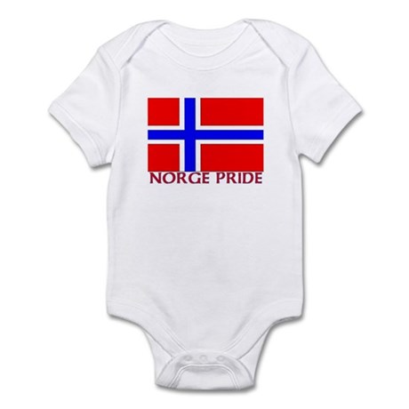 NORGE PRIDE Infant Bodysuit