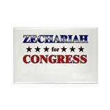 ZECHARIAH for congress Rectangle Magnet (10 pack)