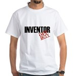 Off Duty Inventor White T-Shirt