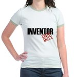 Off Duty Inventor Jr. Ringer T-Shirt